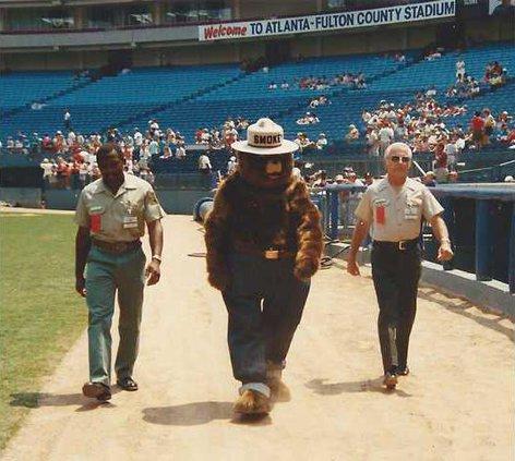 Bob  and Smokey at Braves 2