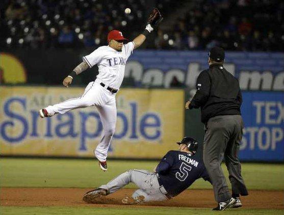 Braves Rangers Baseball