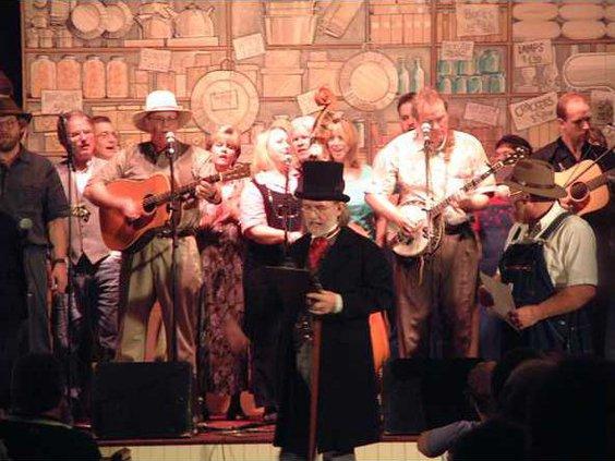 mountain music medicine show