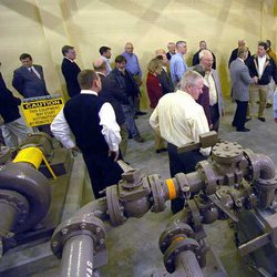 Islands resort dedicates new wastewater plant for coming