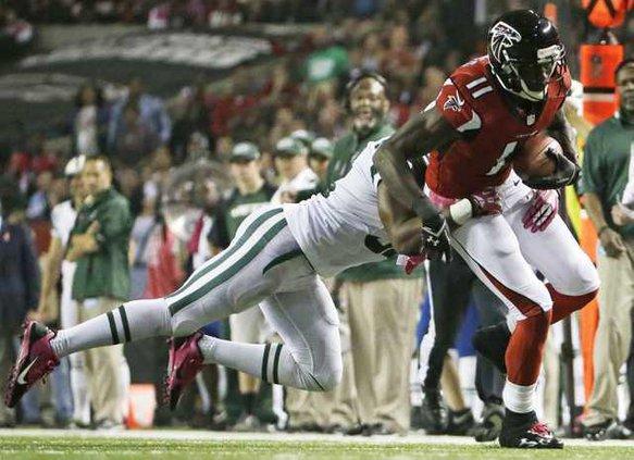 Jets Falcons Football Hoop 1