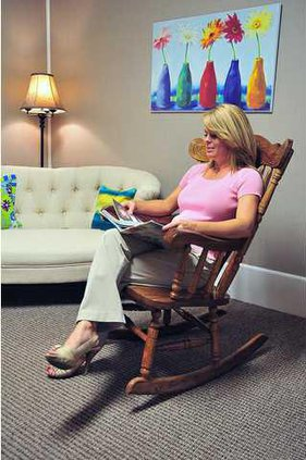 Pleasing Gainesville Womans Rocking Chair Donation Goes Full Circle Gmtry Best Dining Table And Chair Ideas Images Gmtryco