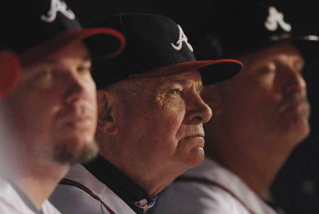 Giants beat Braves, send Cox into retirement - Gainesville Times