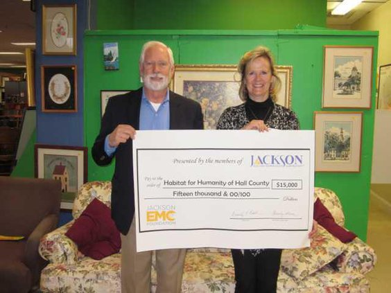 Habitat for Humanity of Hall County Jackson EMC grant