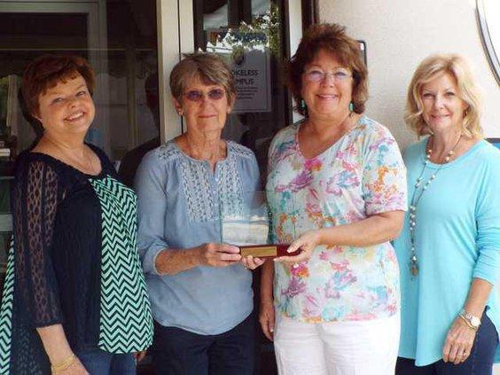Sam Poole volunteer award