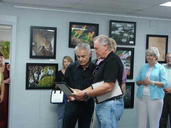 Northeast Georgia Veterans Society Presents Award
