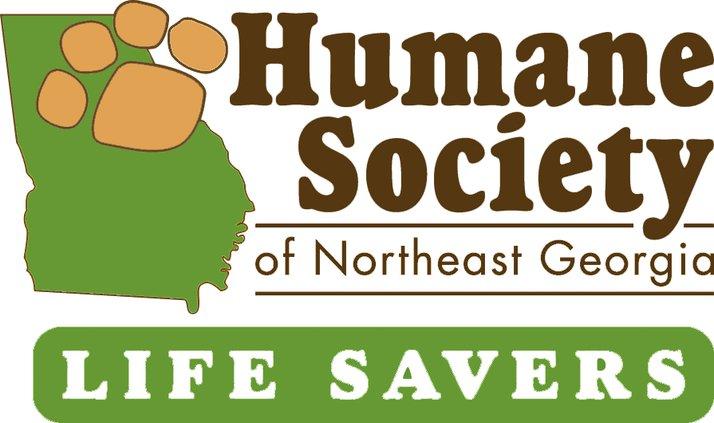 Humane Society of Northeast Georgia logo