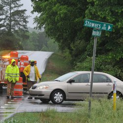 Dawson Middle student killed when car hydroplanes, crashes