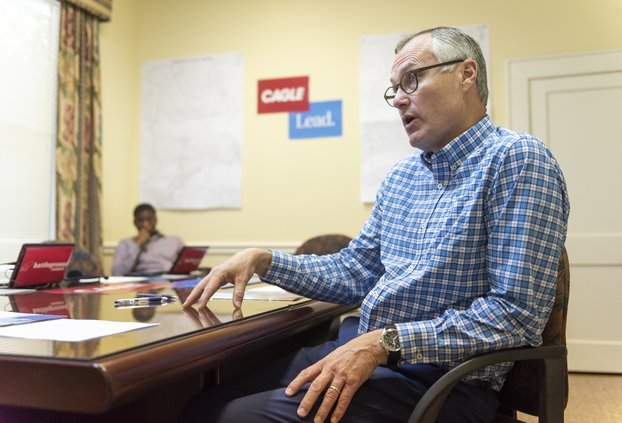 Politics 'not always a pretty process' Cagle says over audio