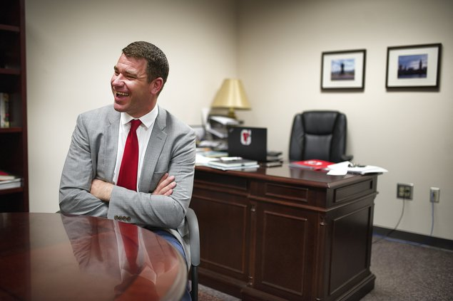New Gainesville High principal Jamie Green is all in for Big