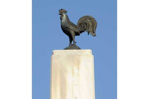 Poultry monument