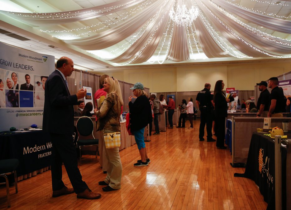 Why 70-plus employers showed up to job fair struggling to