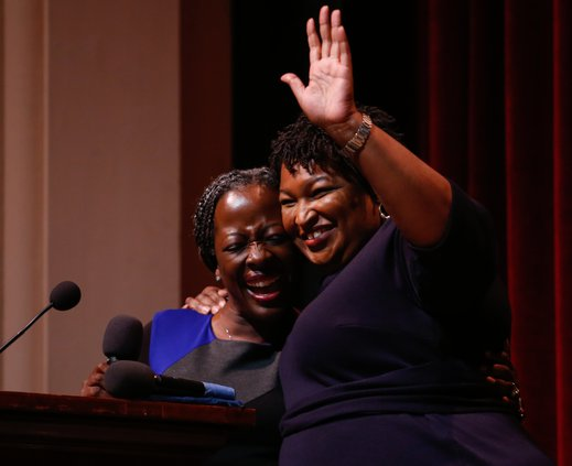 Stacey Abrams visit