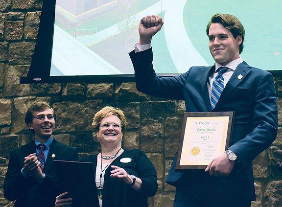 Sweda chosen as Lanier Technical College's GOAL Winner