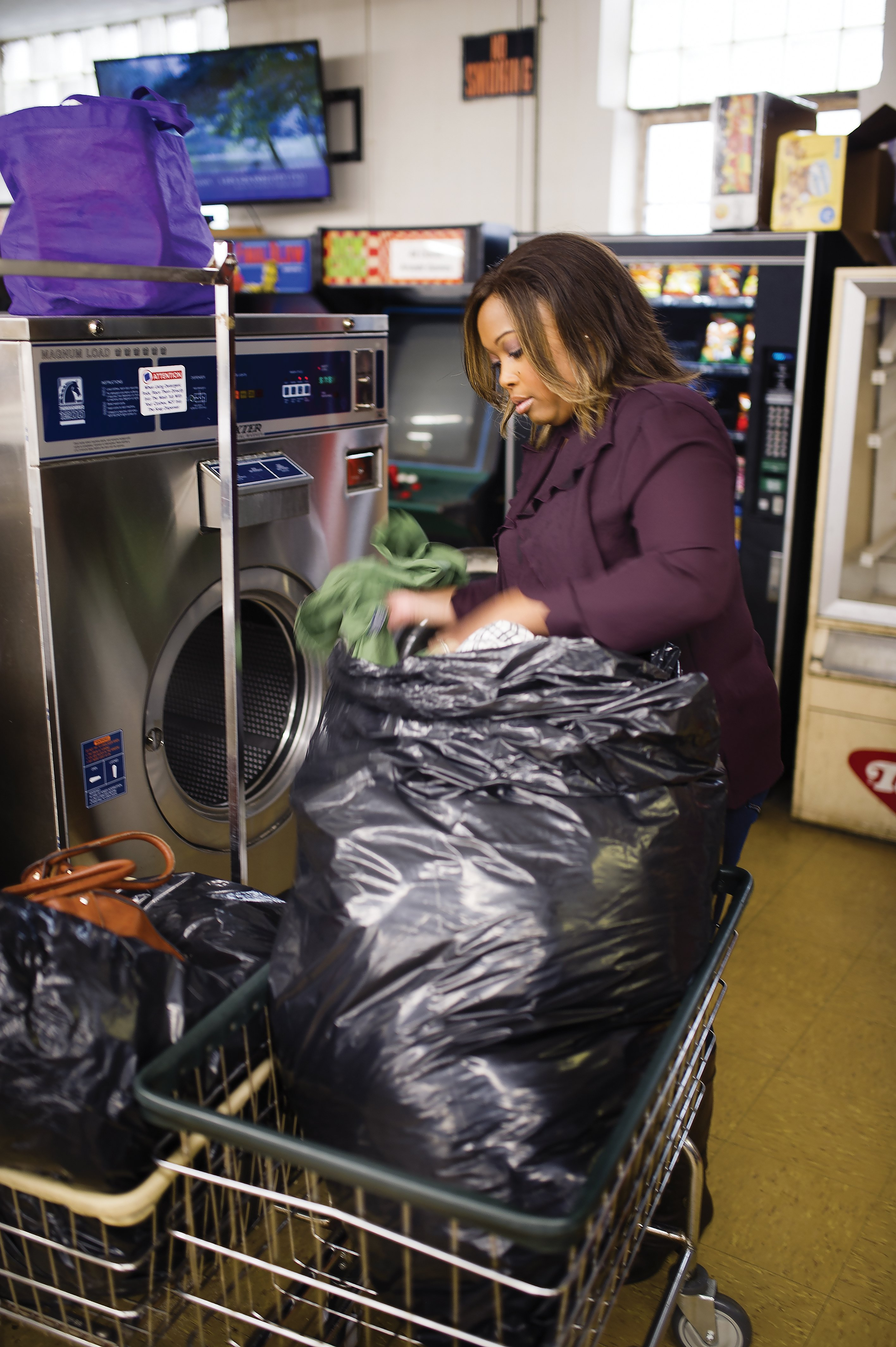 This ministry is easing burdens, one load of laundry at a