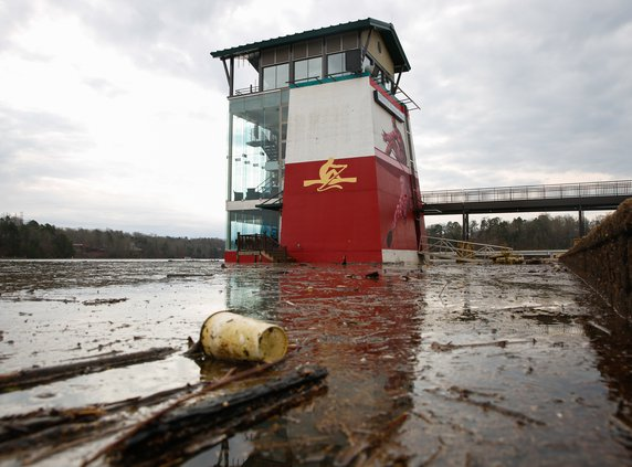 How Places Around Lake Lanier Are Coping After The Wettest