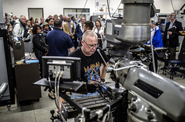 How companies strive to make manufacturing 'sexy' again