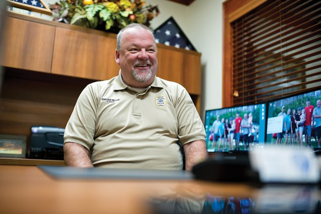 Oakwood police chief finally ready to retire his badge