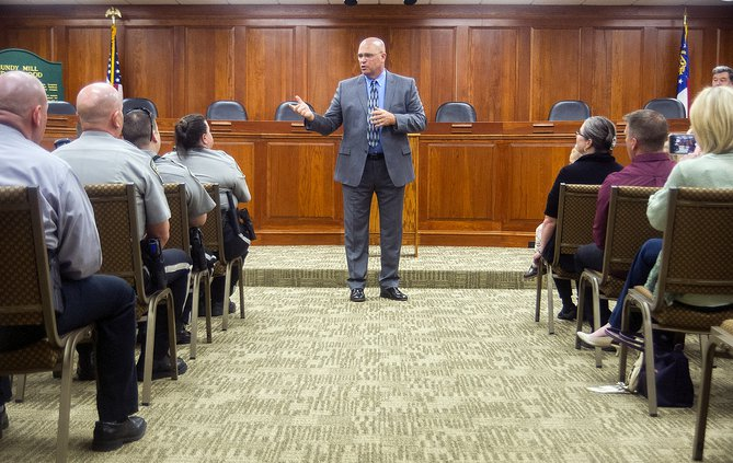 Meet Tim Hatch, Oakwood's new police chief - Gainesville Times