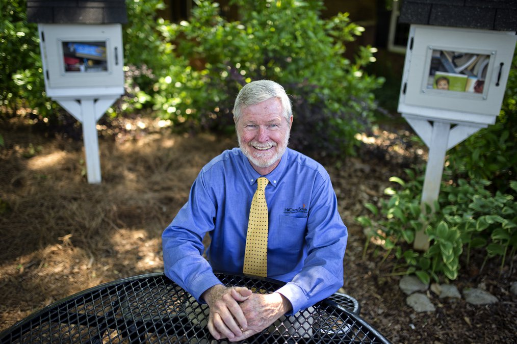 What Gordon Higgins, a fixture in Hall County Schools, will