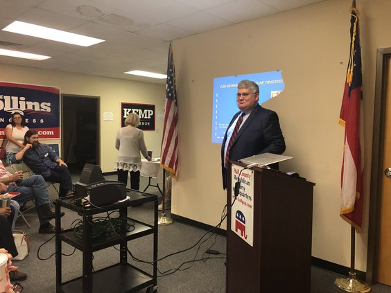 David Shafer, chairman of the Georgia GOP