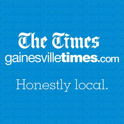 App splash screen Gainesville Times