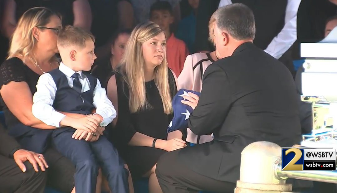 Deputy Dixon laid to rest in Gainesville, remembered as 'a