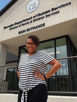 Why this local DFCS case manager received state recognition