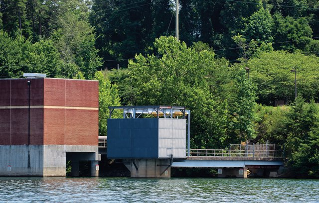 Sewer overflow spills into Lake Lanier near Riverside Water Treatment Plant - Gainesville Times